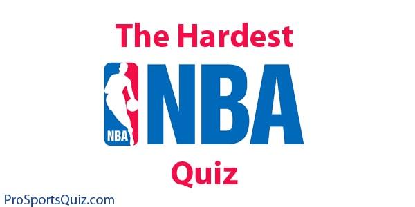 Nba Quiz The Hardest Trivia Challenge On The Web 2020
